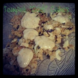 tempeh crab cakes