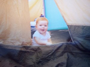 Me as a baby in good old 'Zona.