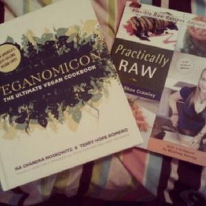 The cookbooks I got for Christmas...I love them!