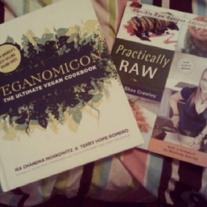 The cookbooks I got for Christmas...I love them!