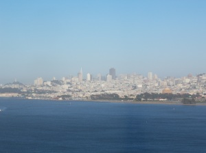 A gorgeous city, even from afar!