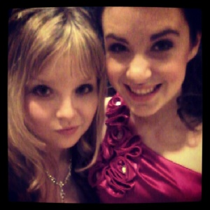 Me and my sissy at the annual Father Daughter Dance.