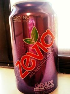 Grape Zevia.