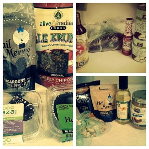 Whole Foods haul under $55.
