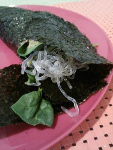 Nori wraps are a new lunch must-have.