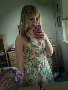 My Easter outfit (actually the exact same as last year!)