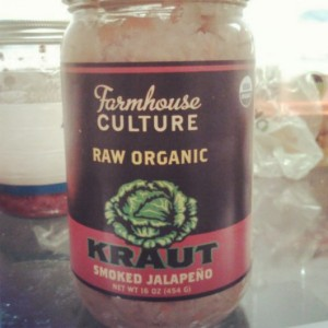 The best kraut I've ever had!