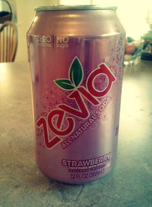 Finally tried the strawberry Zevia!