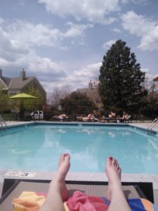 Poooool time. Pool > studying. Sorryimnotsorry.