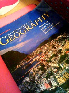 intro to geography