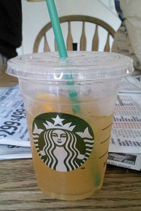 The new Starbucks Refresher!