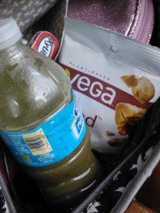 Snacks in the car.