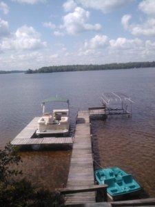 Lake view. Gorgeous.