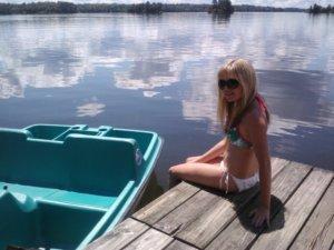 I love the lake!