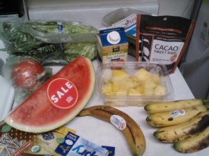 See those egg whites hiding in my Whole Foods haul?