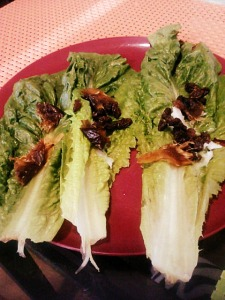 Lettuce wraps...for breakfast?