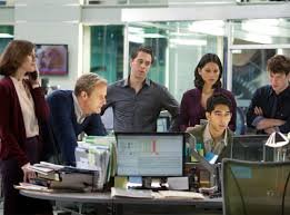 Caught up on a few episodes of my new favorite show--The Newsroom.