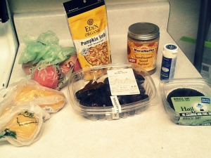 Sprouts and Natural Grocers mini-haul.