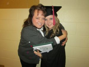My mom and me after the ceremony :)