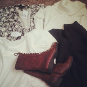 Clothes shopping makes me happy...and shopping the sales makes my wallet happy.