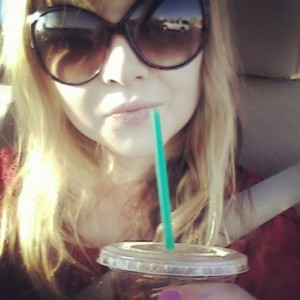 Iced coffee in January? Why not? #bejealous