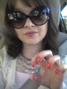 I don't always get manis...but when I do, I take shameless selfies to show them off!