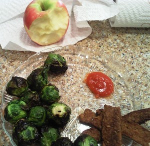 My dad introduced me to brussels sprouts in 2011 and I've loved them ever since.