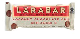 Coconut chocolate chip Larabar.