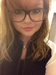 I'm so nerdy I wear these huge glasses for real (and love them)!