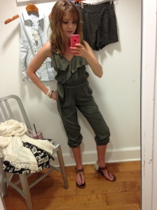 I love this jumpsuit even more, knowing I bought it for a fraction of the original price.