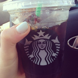 Can't live without my Starbucks.