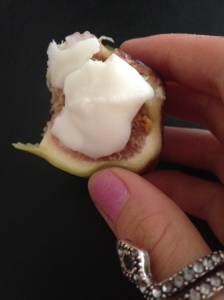 Figs+coconut butter. Just do it.