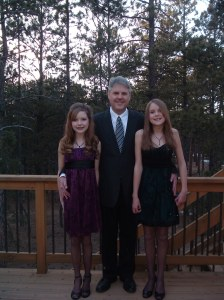 I may have never gone to the prom but I went to many father-daughter dances with my dad (and sister).