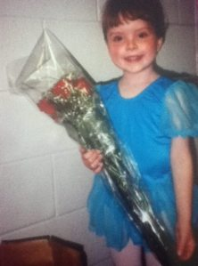 I also loved dance recitals.
